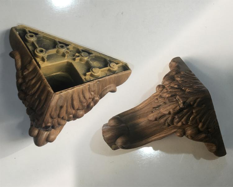 پایه مبل مدل منبت 14 سانت