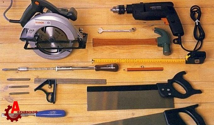 ابزار لازم برای ساخت مبلمان