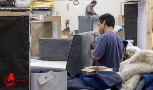 مراحل ساخت مبل راحتی و نصب یراق آلات، ابزار مبل سازی و یراق آلات مبلمان راحتی