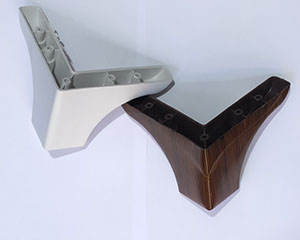 پایه مبل مدل ال تاجدار 10 سانت