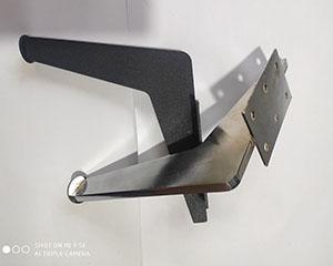 پایه مبل فلزی مدل لمیده