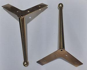 پایه مبل فلزی مدل f2 طلایی