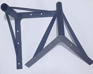 پایه مبل فلزی مدل f6 مشکی