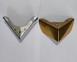 ال فلزی 5 سانت طلایی و نقره ای