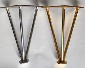 پایه فلزی مدل سه  پر میلگرد