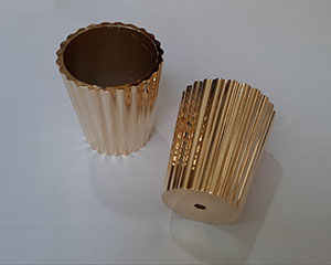 شات پایه مبل پلیمری طلایی کبریتی