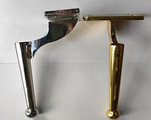 پاه مبل فلزی مدل وزیری 20سانت