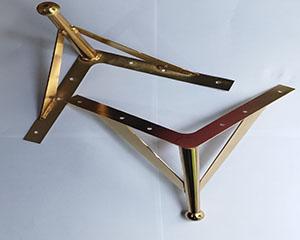 پایه فلزی مدل f6 طلایی